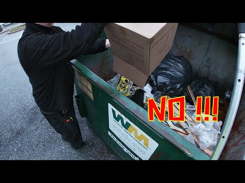 """Dumpster diving episode 39: """"ollie's wasn't so free this time"""""""