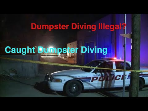 Is dumpster diving illegal? truth about dumpster diving