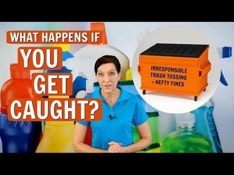 Trash in other people's dumpsters - what happens if you get caught?