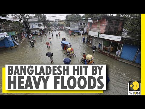 Over 1.5 million people are affected in bangladesh flood, red alert in all rivers । wion news