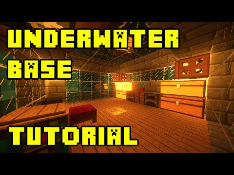 Minecraft: underwater base/house tutorial xbox/pe/pc/ps3/ps4